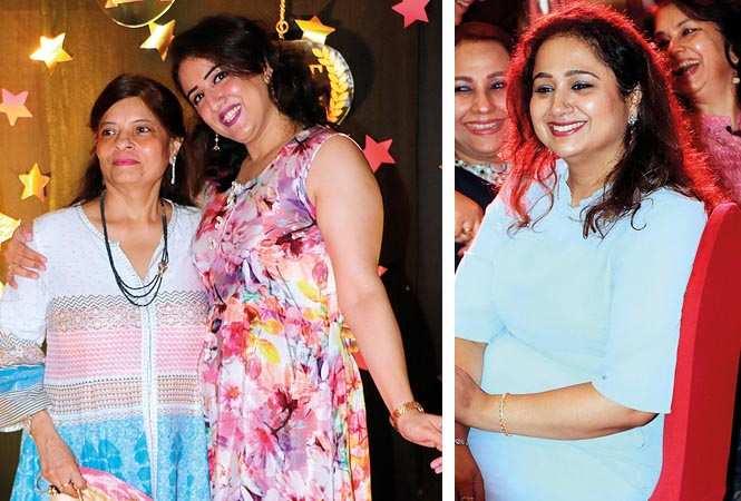 (L) Alka Beri and Pari Beri (R) Aishwarya Seth (BCCL/ Unmesh Pandey)