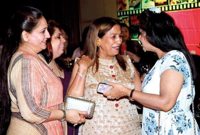 (L-R) Anjai Seth, Bharati and Preeti Talwar (BCCL/ Unmesh Pandey)