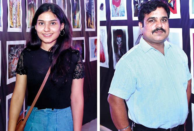 (L) Ambuli Mishra (R) Angad Verma (BCCL/ Farhan Ahmad Siddiqui)