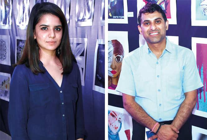 (L) Esha Rao (R) Ravi Joshi (BCCL/ Farhan Ahmad Siddiqui)