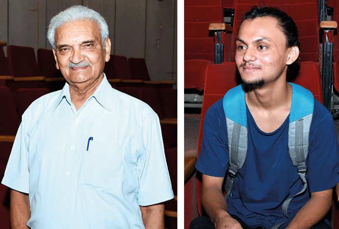 (L) Dr Anil Rastogi (R) Faisal Siddiqui (BCCL/ Farhan Ahmad Siddiqui)