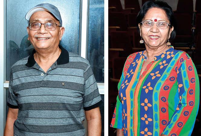 (L) KK Agarwal (R) Mridula Bhardwaj (BCCL/ Farhan Ahmad Siddiqui)