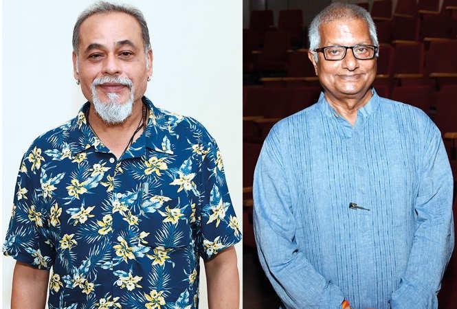 (L) Prof Suresh Sharma (R) Ravi Shankar Khare (BCCL/ Farhan Ahmad Siddiqui)