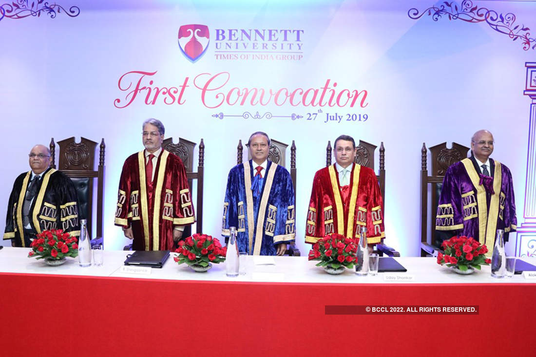 Bennett University celebrates its first annual convocation