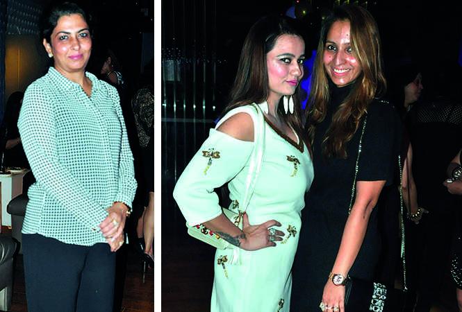 (L) Geetika Bhatia (R) Harsha Talwar and Jyoti Sahni (BCCL/ AS Rathor)