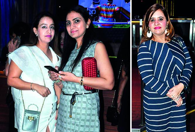 (L) Jasneet and Ashu Pachnanda (R) Manisha Singh (BCCL/ AS Rathor)