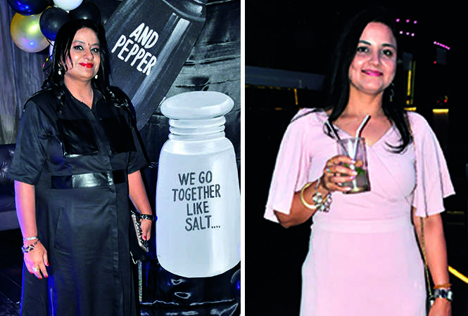 (L) Namrata Agarwal (R) Neeti Trivedi (BCCL/ AS Rathor)