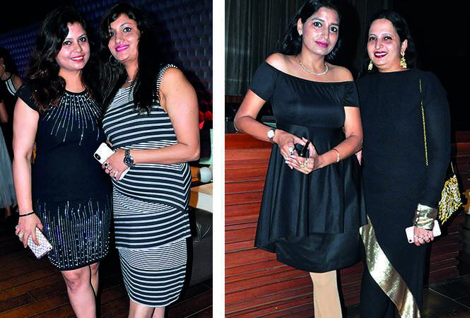 (L) Neetu Shukla and Ritu Mussadi (R) Shruti Tandon and Rashmi Jain (BCCL/ AS Rathor)
