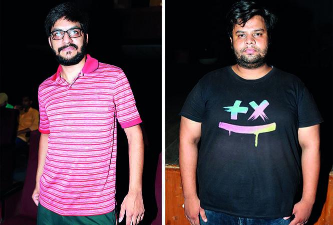 (L) Aaryan Tandon (R) Ahmad Raza Khan (BCCL/ Aditya Yadav)