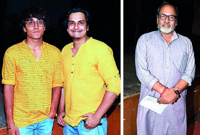 (L) Akshat and Marc Dixit (R) Gopal Sinha (BCCL/ Aditya Yadav)