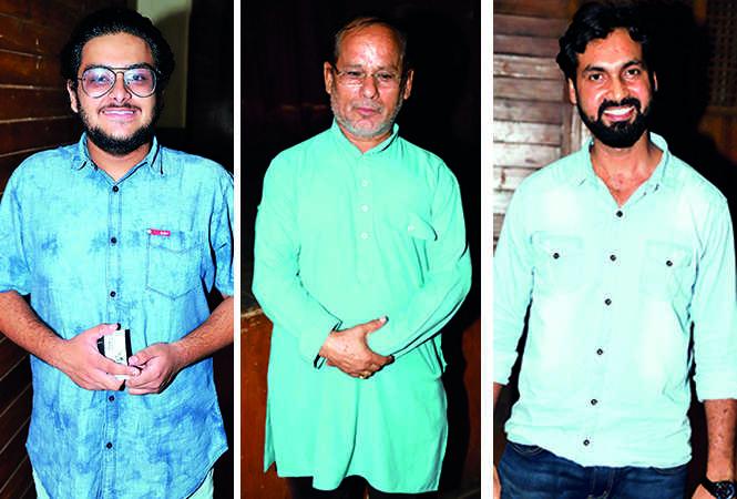 (L) Kartik (C) Lalit Singh Pokhriya (R) Mohd Saif (BCCL/ Aditya Yadav)