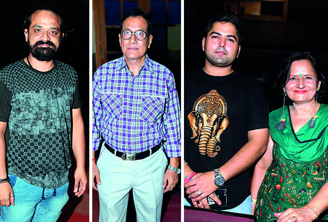 (L) Nitish Bhardwaj (C) Sangam Bahuguna (R) Vikrant and Neha Tankha (BCCL/ Aditya Yadav)