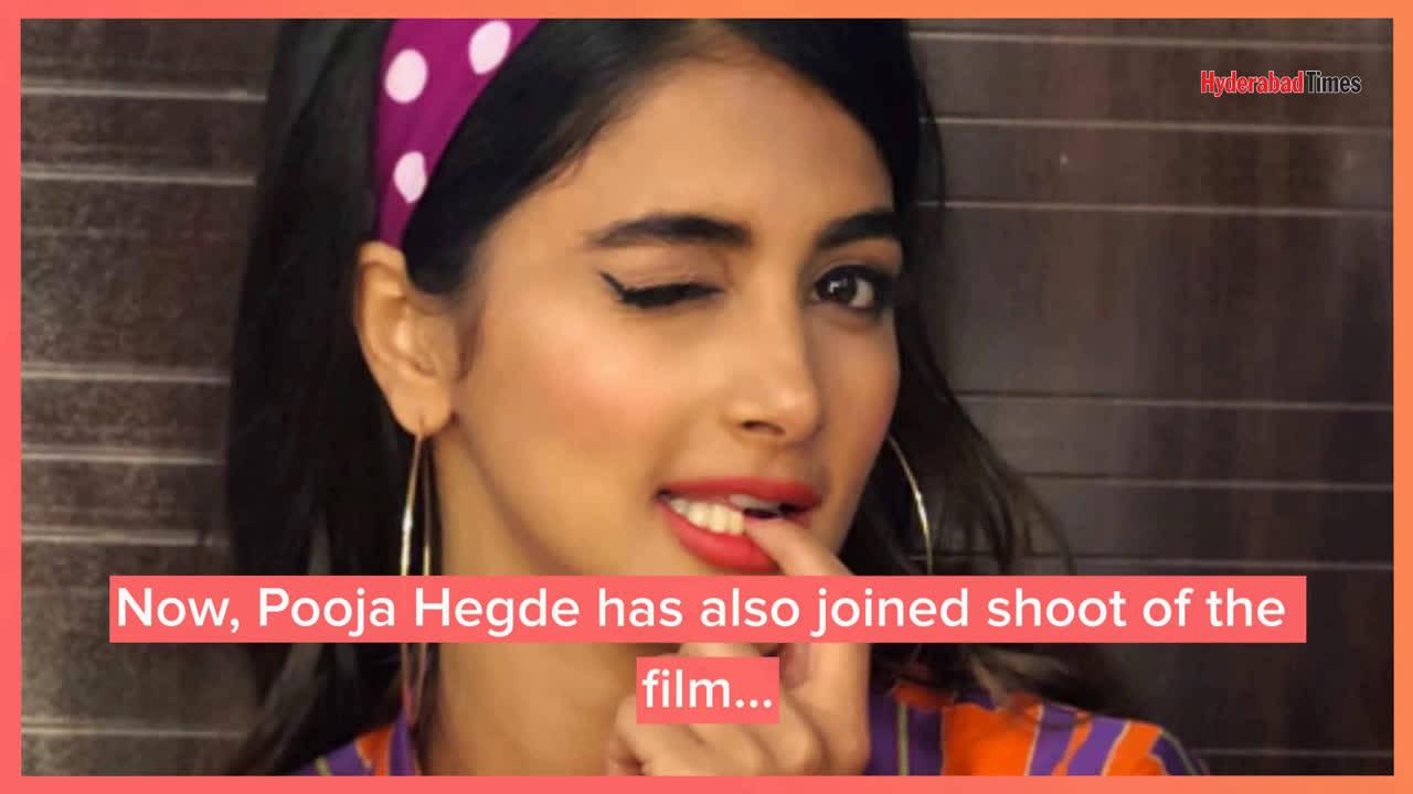 Pooja Hegde begins shoot for Valmiki