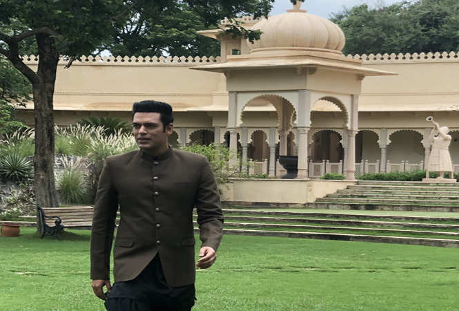Samir Kochhar is shooting and sightseeing in Udaipur - Times