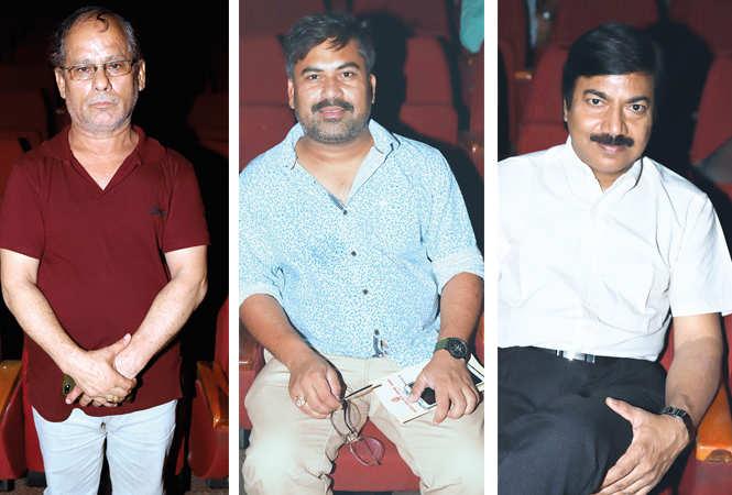 (L) Lalit Singh Pokhariya (C) Sandeep Yadav (R) Tarun Raj (BCCL/ Aditya Yadav)