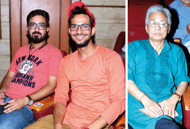 (L) Tushar and Gaurav (R) Urmil Kumar Thapliyal (BCCL/ Aditya Yadav)