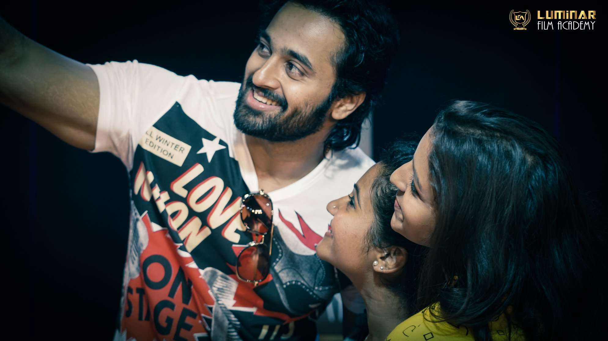 Unni Mukundan surprises the actors of Chocolate-Story Retold during the acting workshop