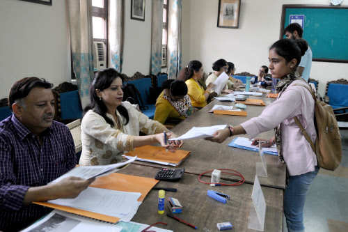 DU releases first admission list for PG courses on official website