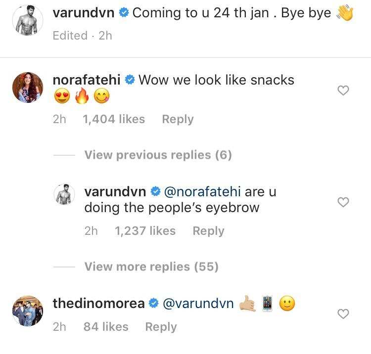 varun comments