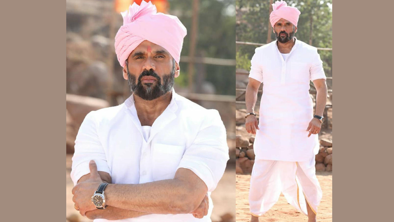 Suniel Shetty loves his 'Pehlwaan' look