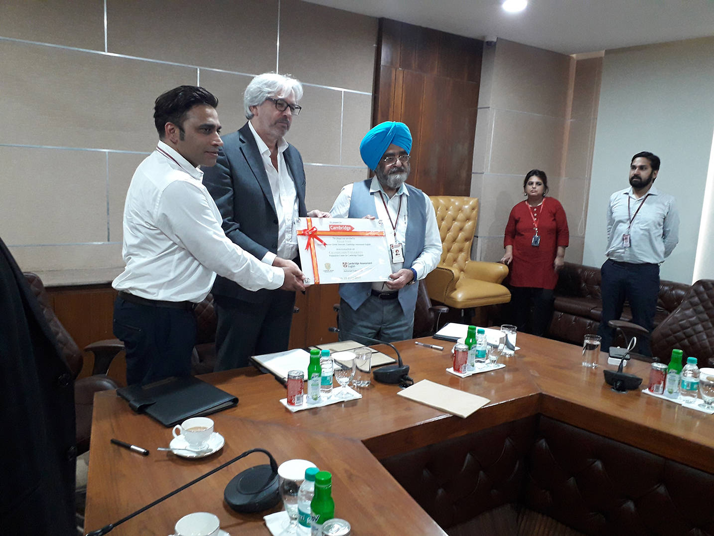 Cambridge Assessment signs MoU with Chandigarh based university