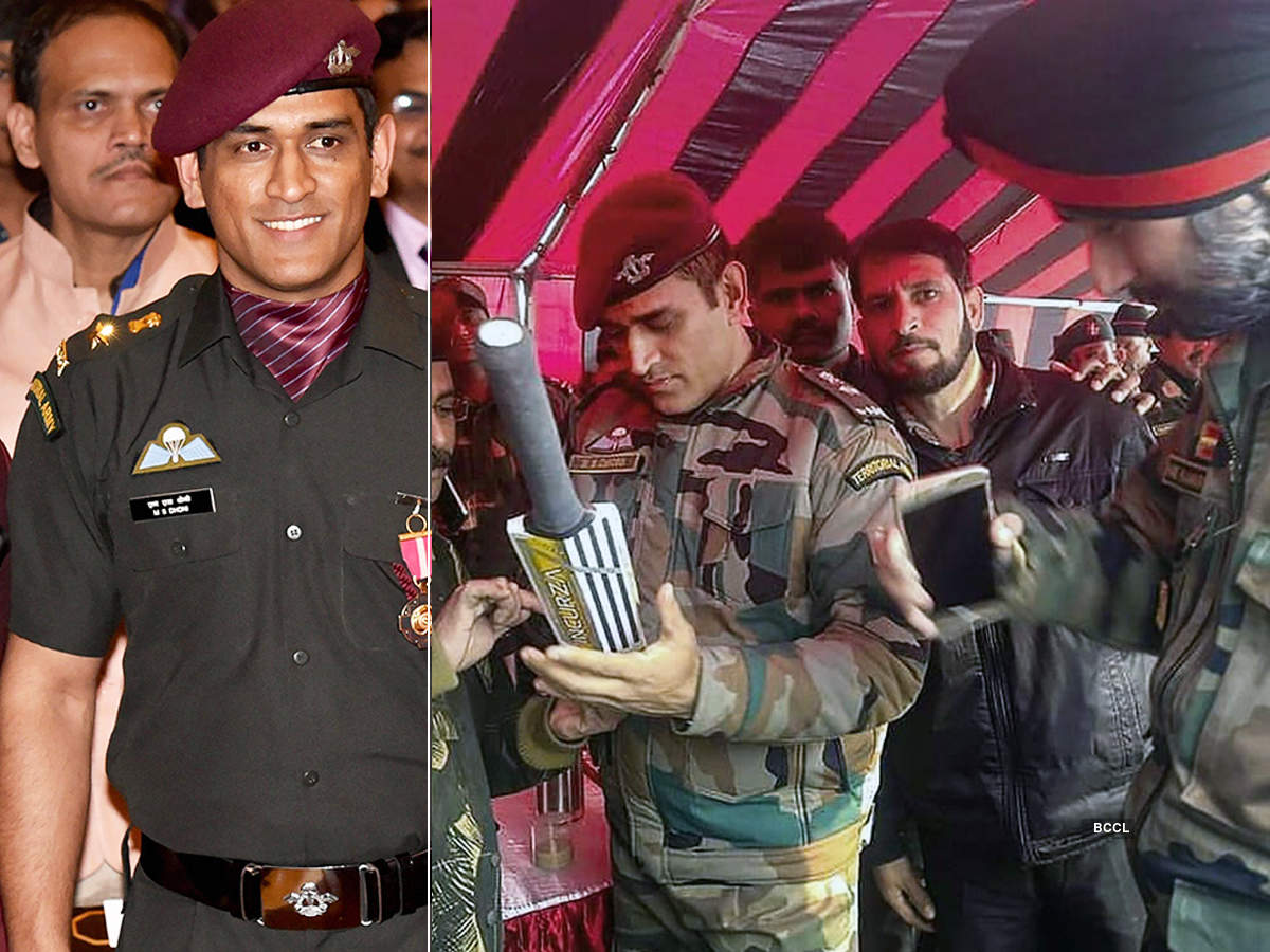 MS Dhoni begins a two-week stint in Army, picture goes viral