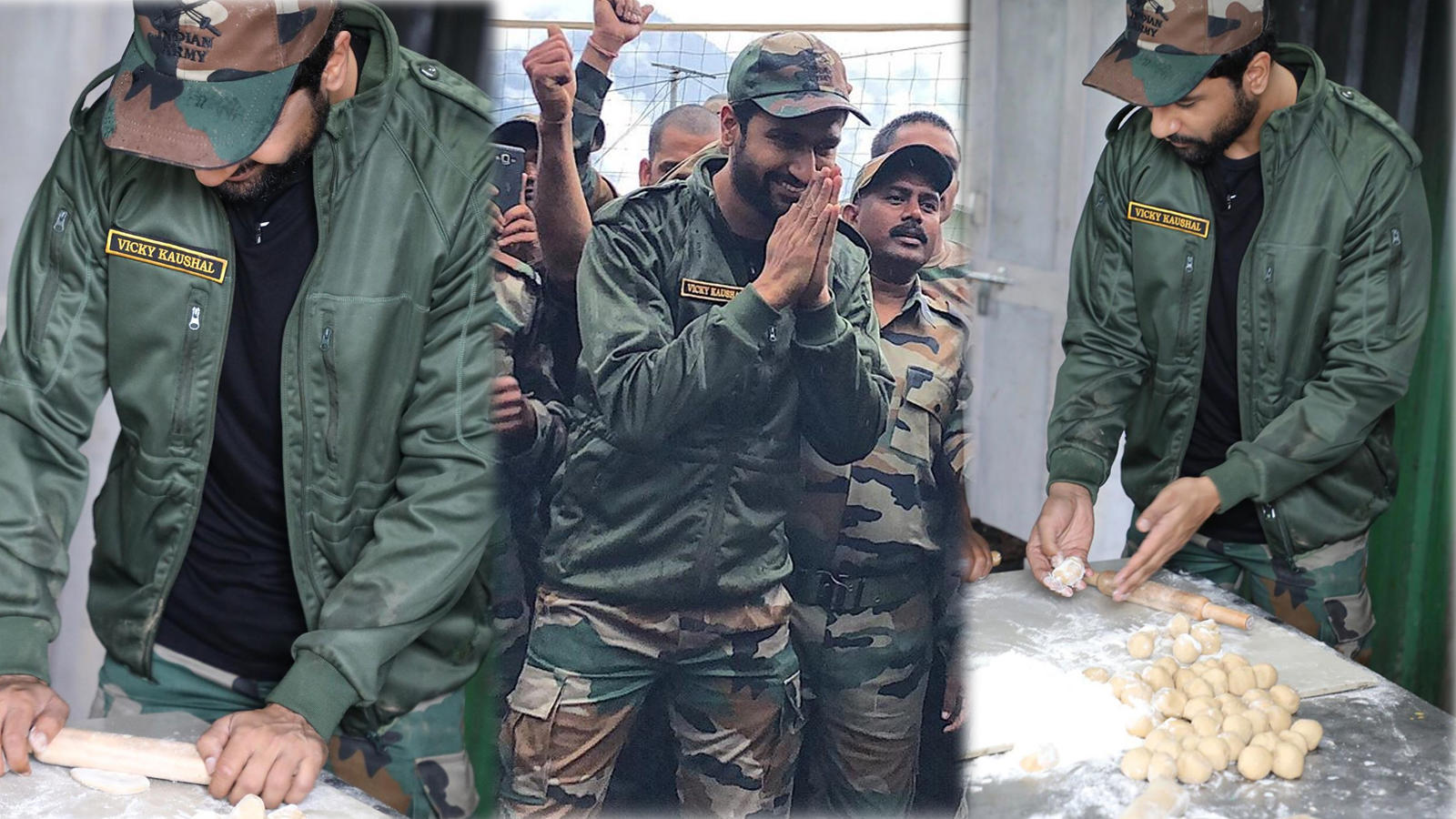 How's the josh? Vicky Kaushal spends time with Indian Army at Indo-China border outpost, turns chef for them