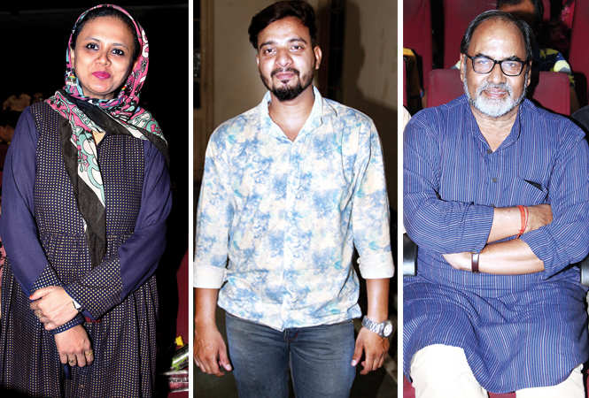 (L) Dr Shadma (C) Faiz Khan (R) Gopal Sinha (BCCL/ Aditya Yadav)