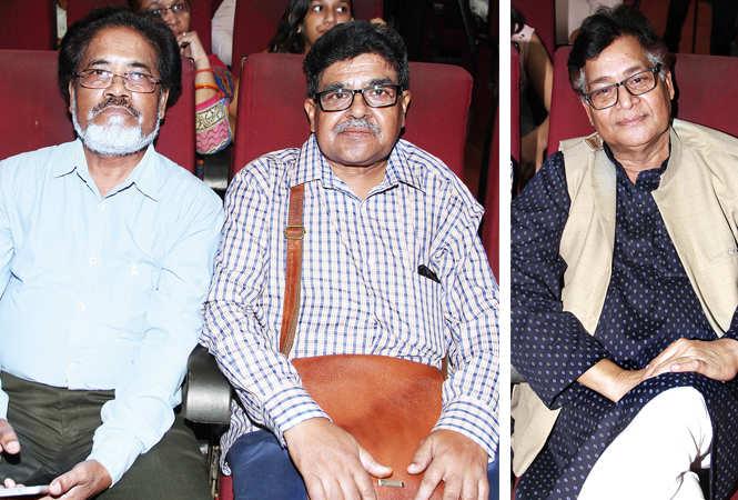 (L) Iqbal Kha and Dr Hemant Kumar (R) Jitendra Mittal (BCCL/ Aditya Yadav)