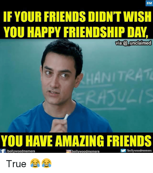 Friendship Day Memes, Status, Wishes, Images & Messages: 10 funny
