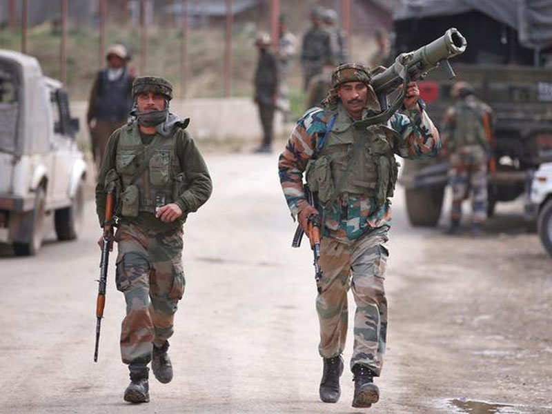 Jammu Kashmir News Indian Army Foils Attack By Pak S Bat