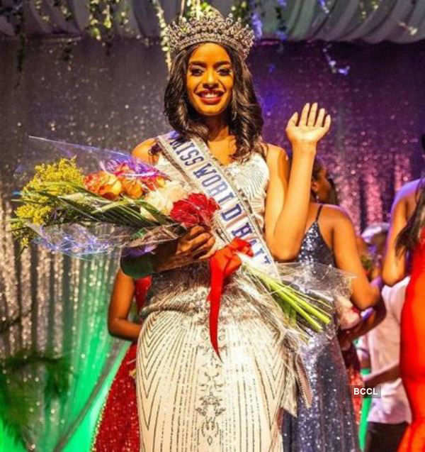 Alysha Morency crowned Miss World Haiti 2019