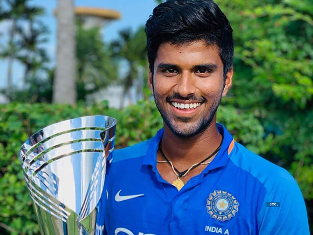 Find Out The Reason Behind Indian Cricketer Washington Sundar S Unusual Name Photogallery Etimes
