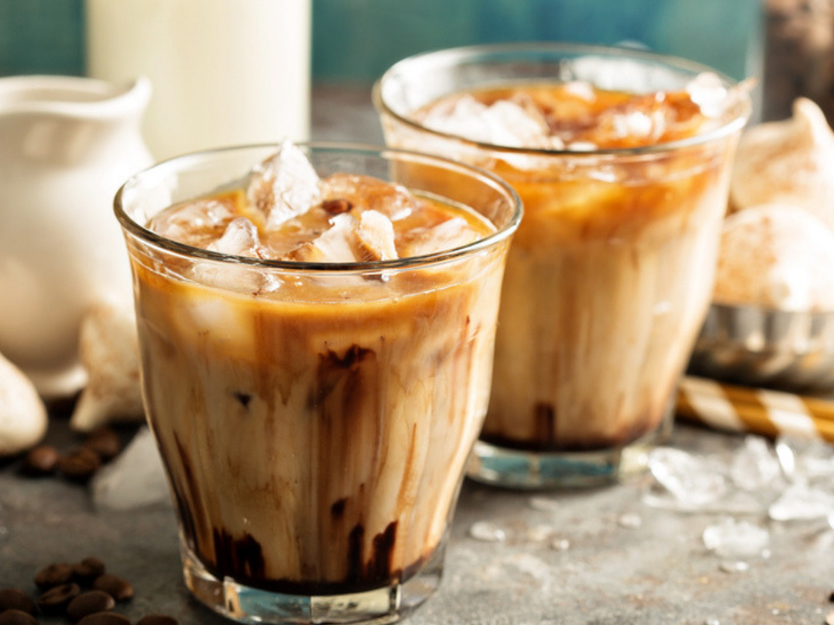 Cold-coffee without a blender at your home