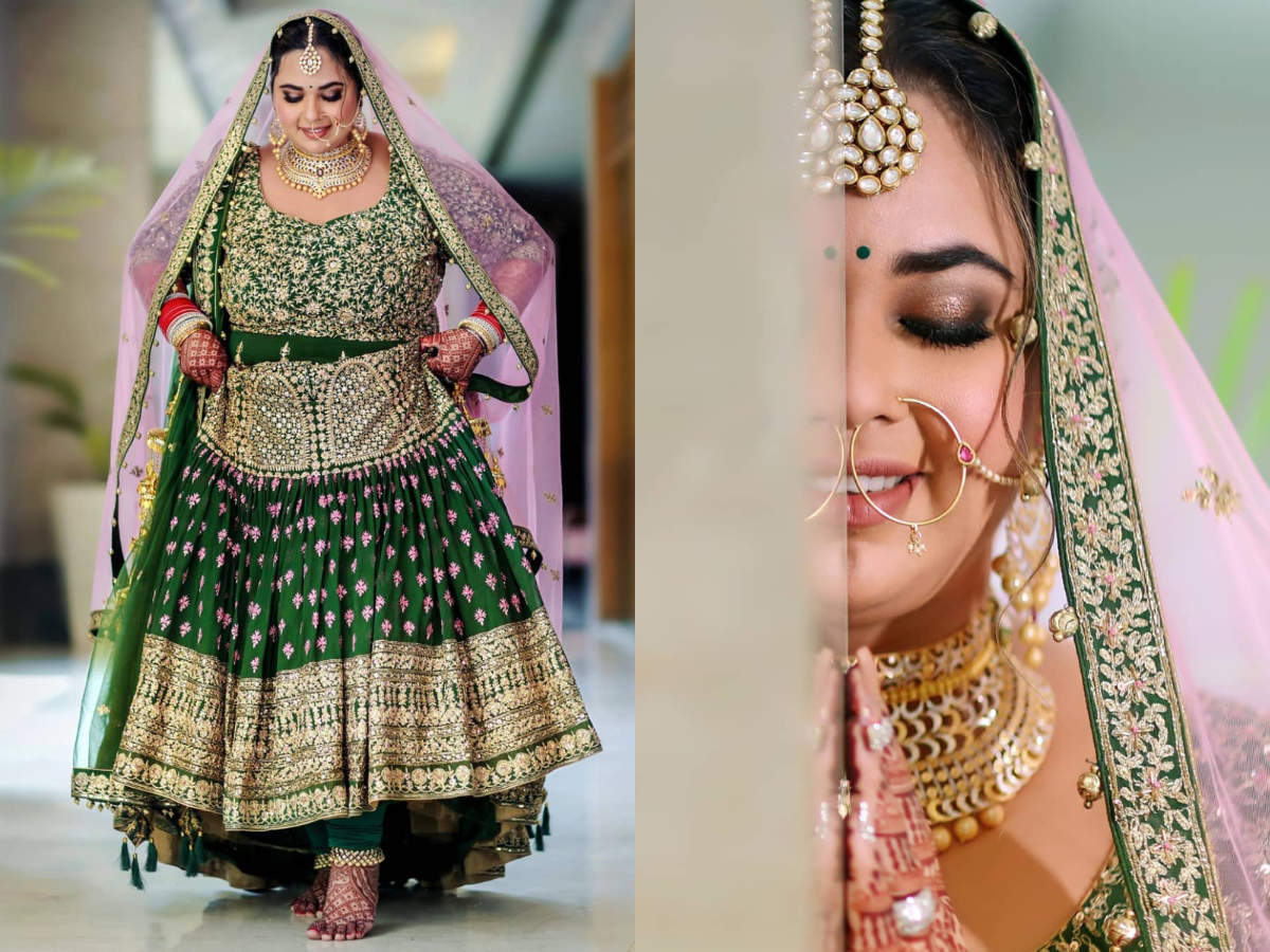 This Curvy Bride Wore The Most Unusual Combination For Her Sikh Wedding The Times Of India,Wedding Dress Designers