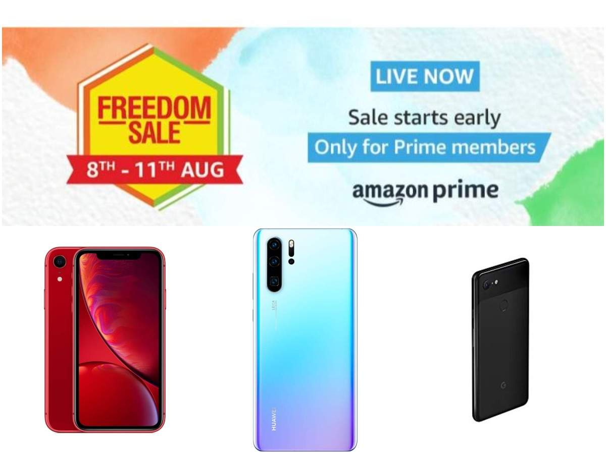 Amazon Freedom Sale: Best discounts you can get on Apple, Xiaomi, Google and other smartphones