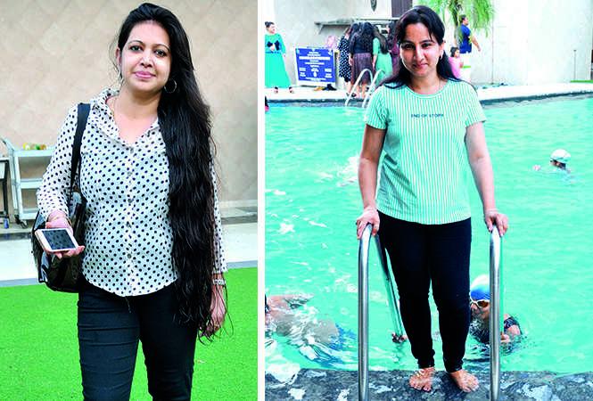 (L) Anju Bhasinka (R) Deepali Gupta (BCCL/ AS Rathor)