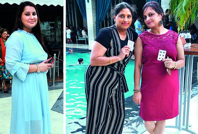 (L) Honey Khan (R) Monika Agarwal and Arti Agarwal (BCCL/ AS Rathor)