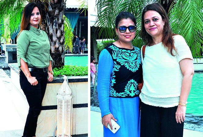 (L) Arti Tripathi (R) Neetu Shukla and Devika Mukherjee (BCCL/ AS Rathor)