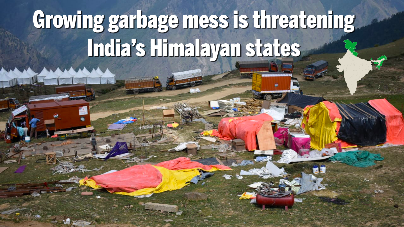 What a waste: India treating less than half of its trash, Himalayan