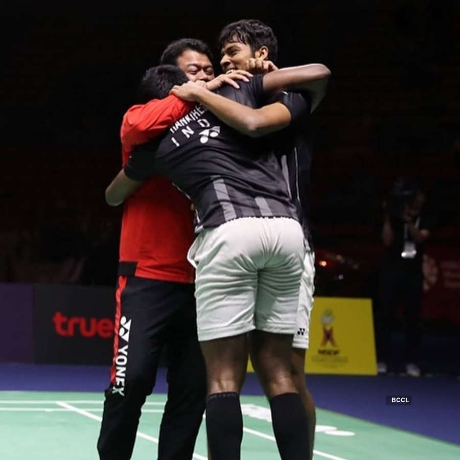 Thailand Open 2019 winners Satwiksairaj Rankireddy and Chirag Shetty create history