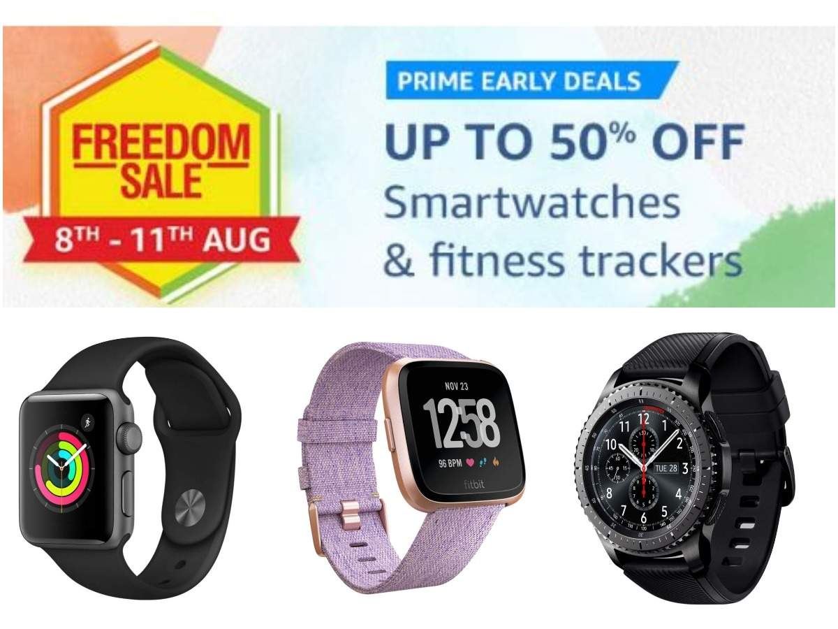 Amazon Freedom Sale: Apple, Samsung, Fitbit smartwatches available at up to 50% off