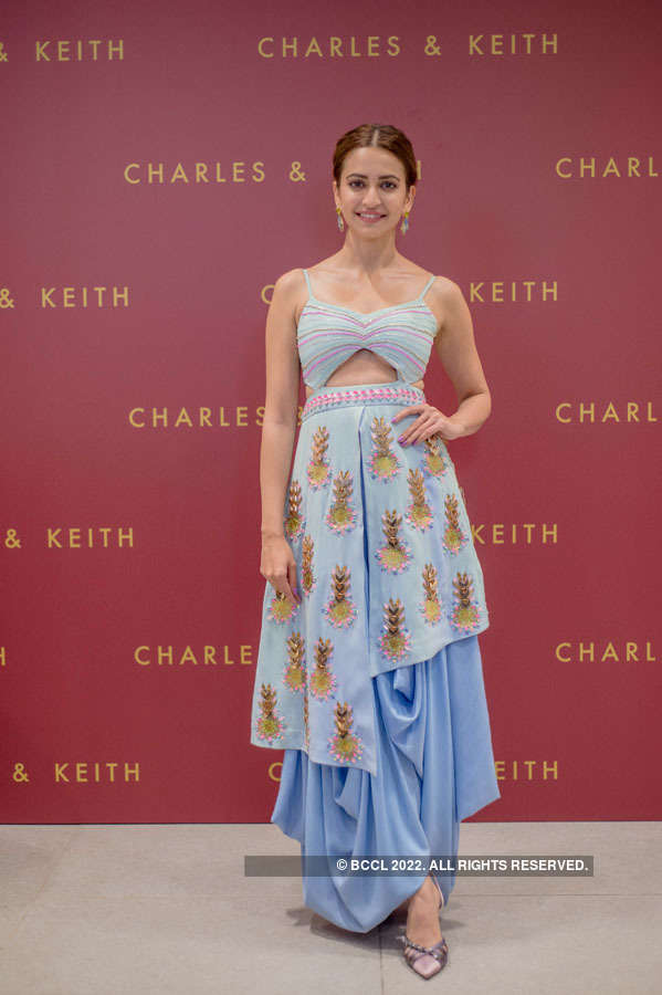 Kriti Kharbanda launches wedding collection for Charles and Keith