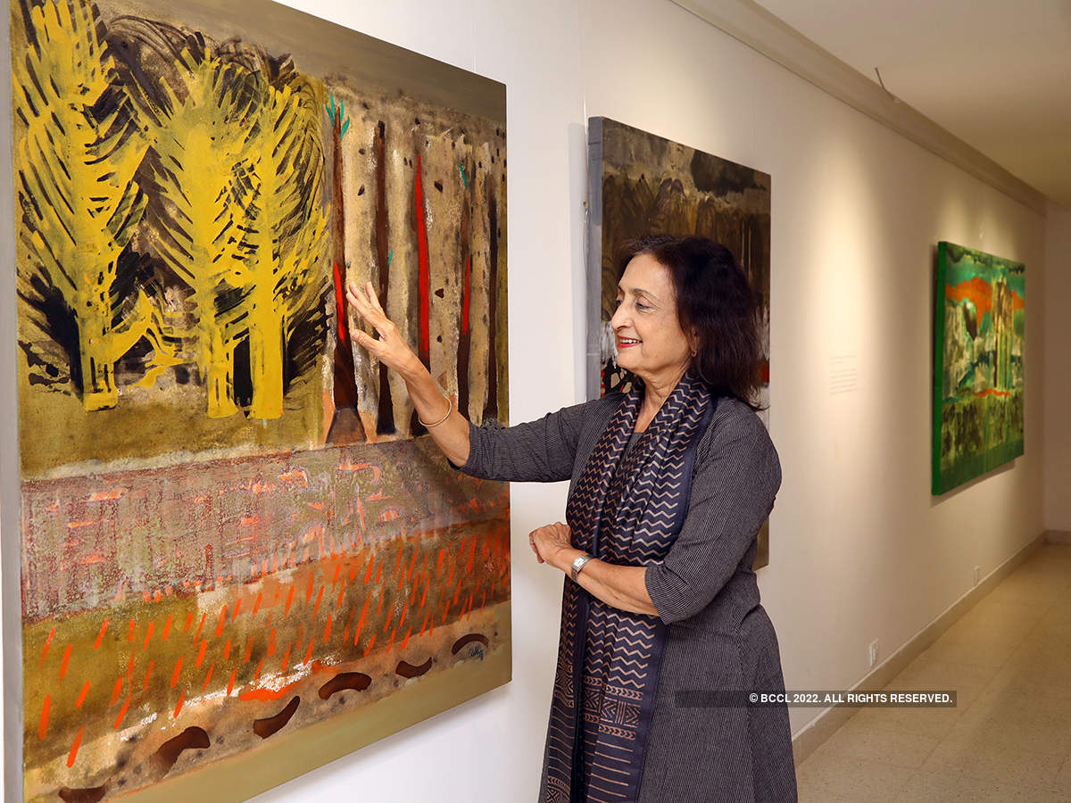 Artist Rekha Rao Hebbar's exhibition 'The Melancholy State of Happiness'