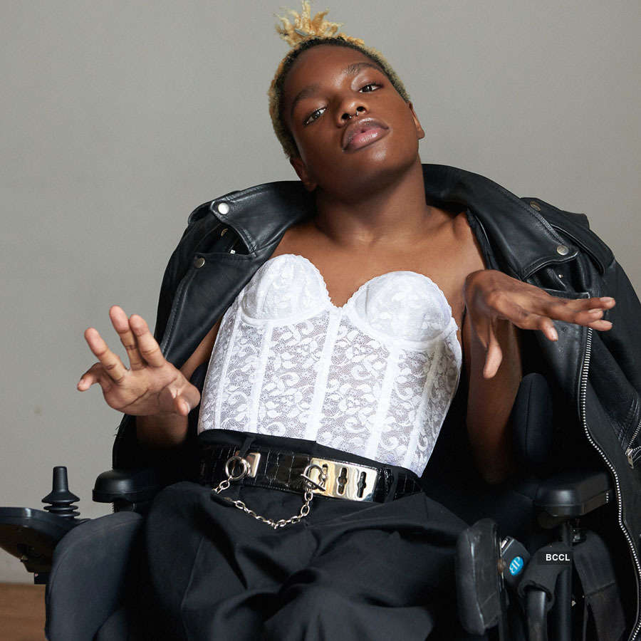 Aaron Philip, the first disabled transgender model