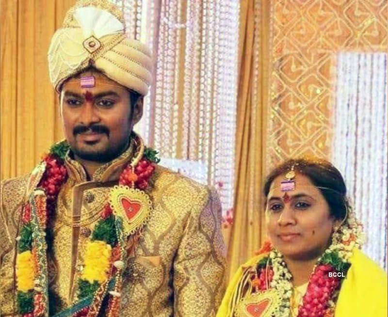 Madhu Prakash and wife Bharati