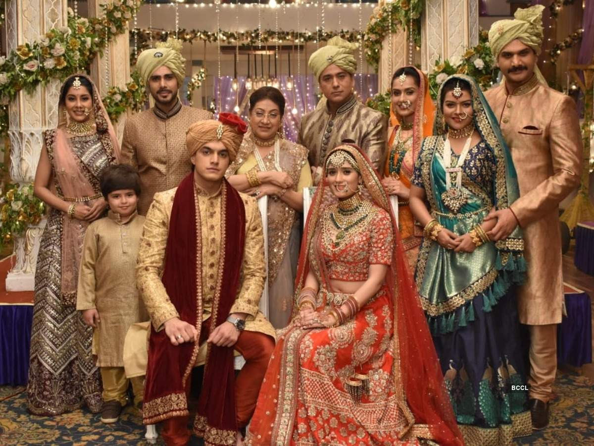 Mohsin Khan And Pankhuri Awasthy All Set To Get Married On Yeh Rishta Kya Kehlata Hai See Their Wedding Pictures The Times Of India 600 x 701 jpeg 62 kb. yeh rishta kya kehlata hai