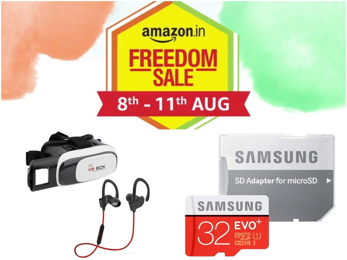 Day 2 of Amazon Freedom sale: 20 gadgets from Sony, Philips, others at Rs 599 and less