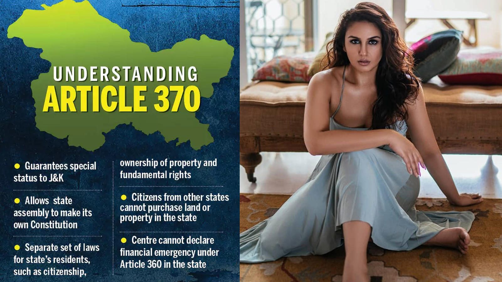 Article 370: Huma Qureshi urges people to stop irresponsible comments on Kashmir