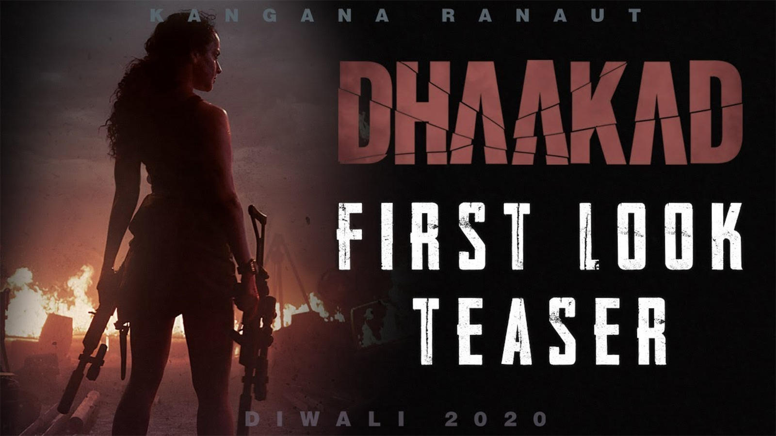 Dhaakad - Official Teaser